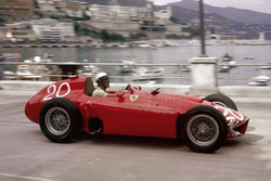 Eugenio Castellotti, Lancia-Ferrari D50, shared with Juan Manuel Fangio