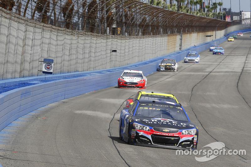 Kasey Kahne, Hendrick Motorsports Chevrolet y Dale Earnhardt Jr., Hendrick Motorsports Chevrolet