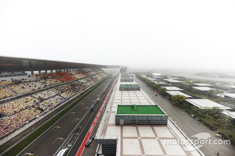 Una visione panoramica dello Shanghai International