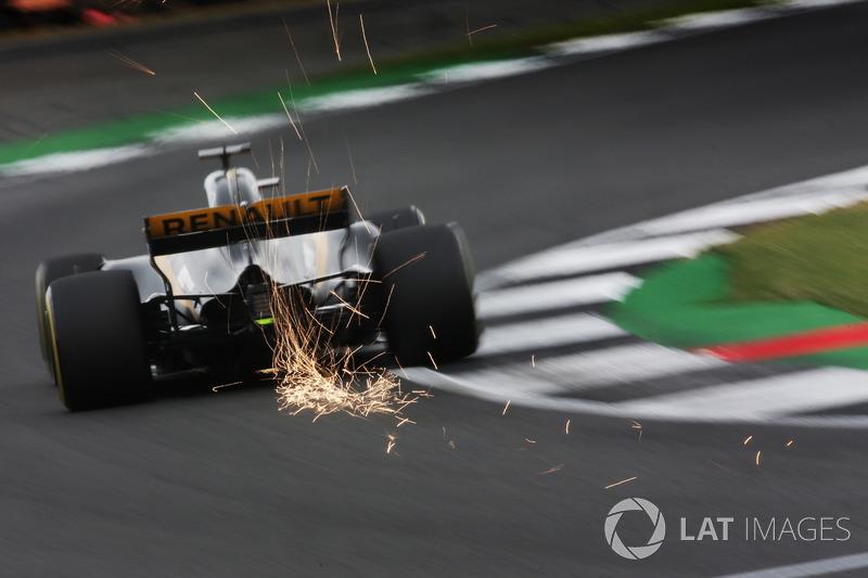 Funkenflug: Nico Hülkenberg, Renault Sport F1 Team RS17