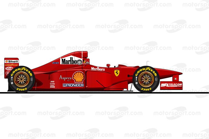 El Ferrari F310B en 1997
