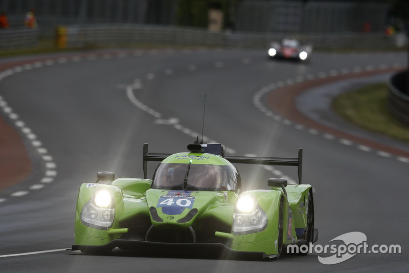 22e: #40 Krohn Racing Ligier JS P2 Nissan: Tracy Krohn, Nic Jonsson, Joao Barbosa