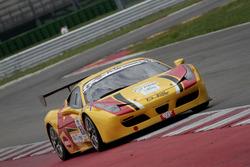 Deodati-Romani, Master-KR Racing, Ferrari 458 Italia-GTCup #161