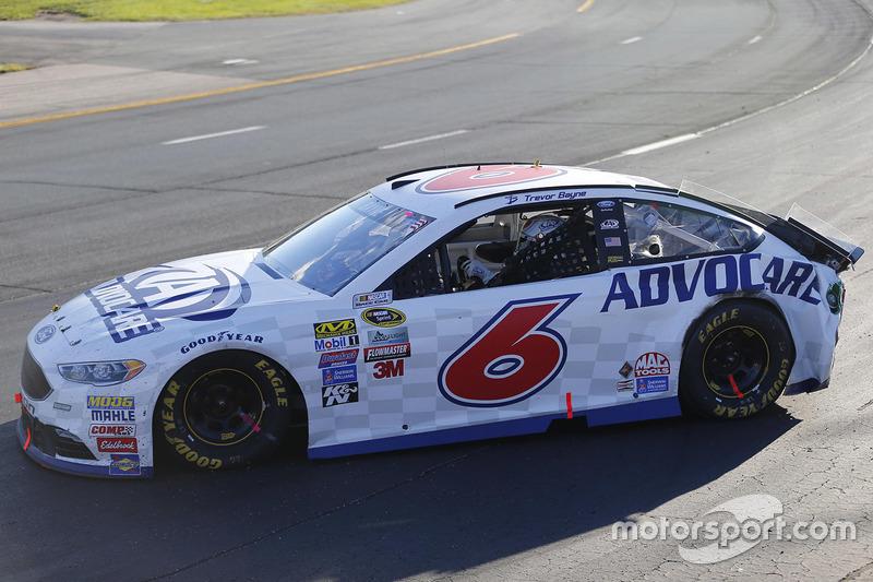 Trevor Bayne, Roush Fenway Racing, Ford, nach Crash