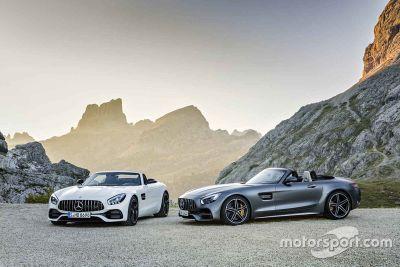 Mercedes AMG GT C Roadster, presentazione