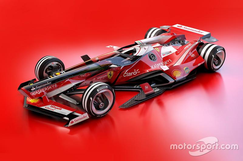 Designstudie für 2030: Ferrari