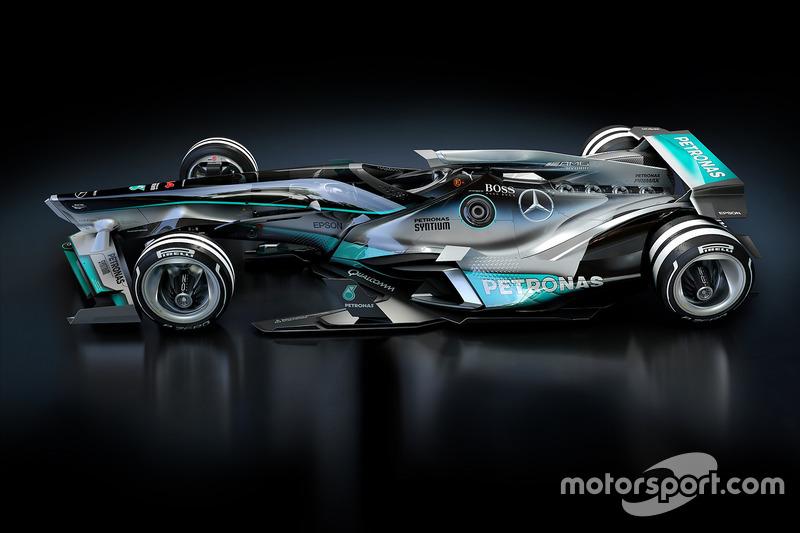 Designstudie für 2030: Mercedes