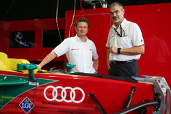 Allan McNish and Dieter Gass, Audi Sport