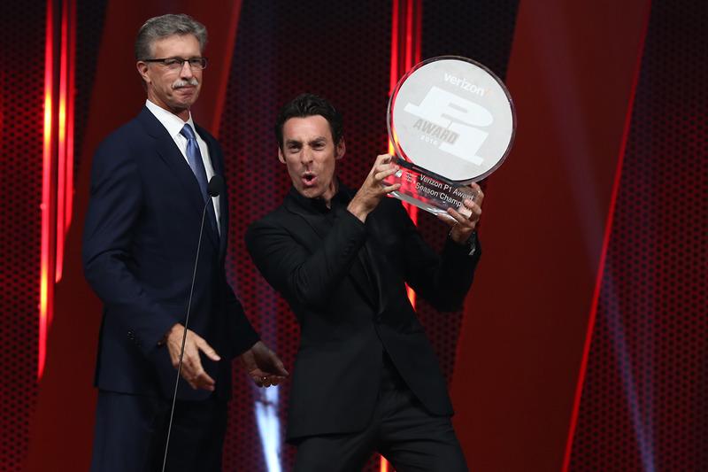 سيمون باجينو،  بينسكي وجائزة فيرايزون للمركز الأول