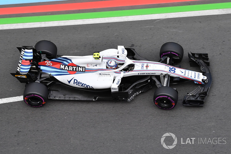 11. Sergey Sirotkin, Williams FW41