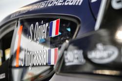 La voiture de Sébastien Ogier, Julien Ingrassia, M-Sport Ford WRT Ford Fiesta WRC
