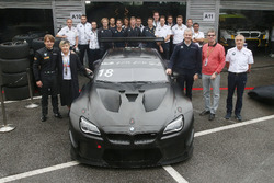 Augusto Farfus, BMW Team Schnitzer, BMW M6 GT3 with Chao Fei, Jens Marquardt, BMW Motorsport Director, Olaf Kastner, Head of BMW AG China and Charly Lamm, Team Principal BMW Team Schnitzer