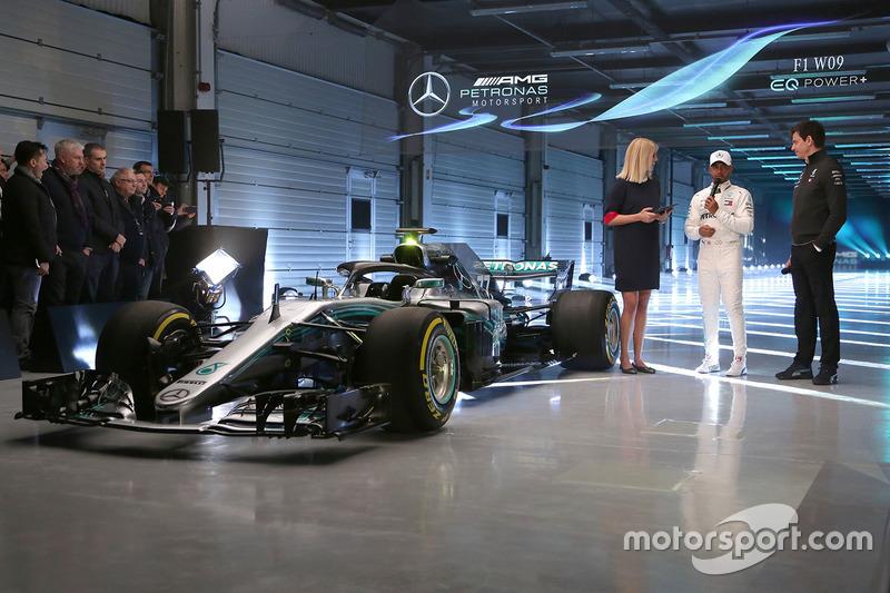 Lewis Hamilton, Mercedes AMG F1, Toto Wolff, Direktör, Mercedes AMG F1