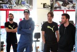 Timo Glock, Joel Eriksson, Augusto Farfus y Philipp Eng