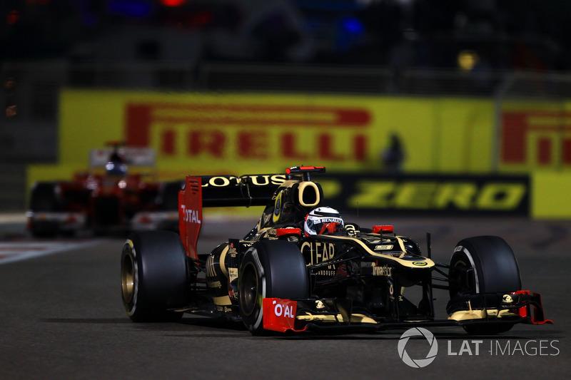 2012. Переможець: Кімі Райкконен, Lotus-Renault