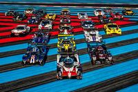 Gruppenfoto: WEC-Autos 2018