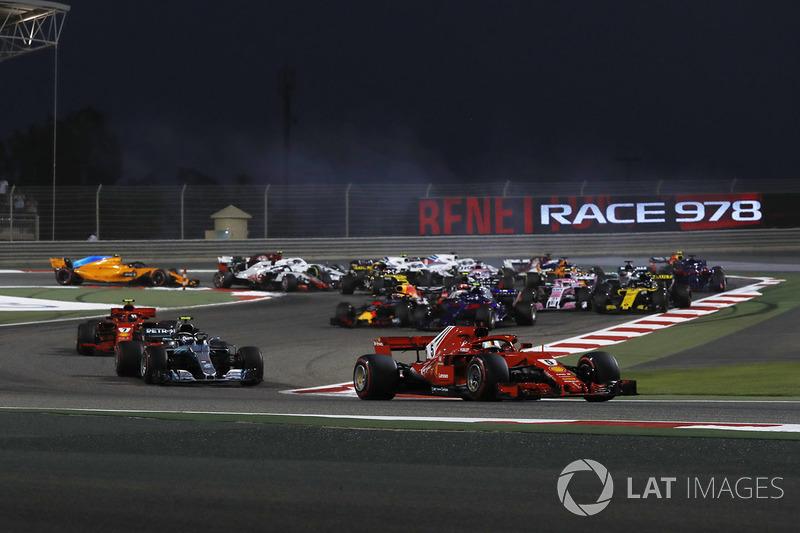 Sebastian Vettel, Ferrari SF71H líder