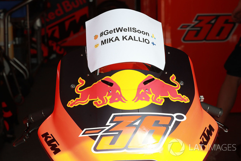 Get Well Soon Mika Kallio, Red Bull KTM Factory Racing
