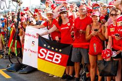 Des fans de Sebastian Vettel, Ferrari