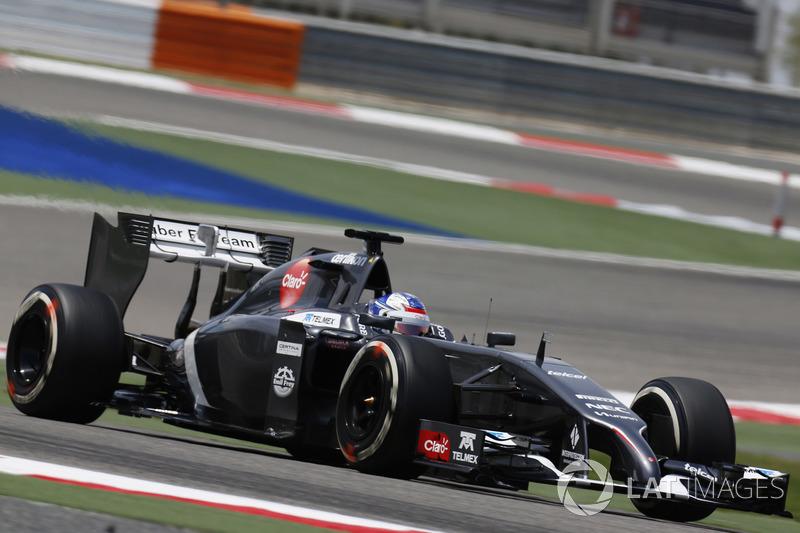 2014: первый опыт в Ф1