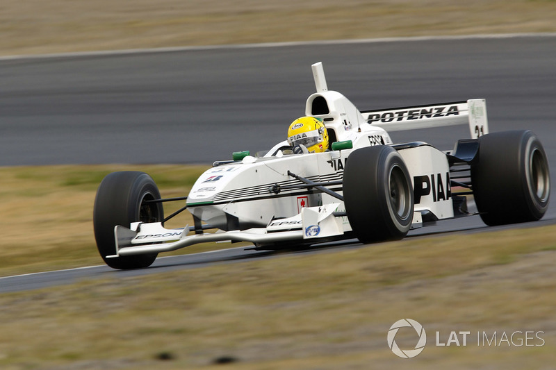 2002 Ralph Firman, Nakajima Racing