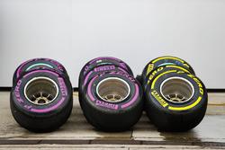 Pneumatici Pirelli Ultrasoft e Soft