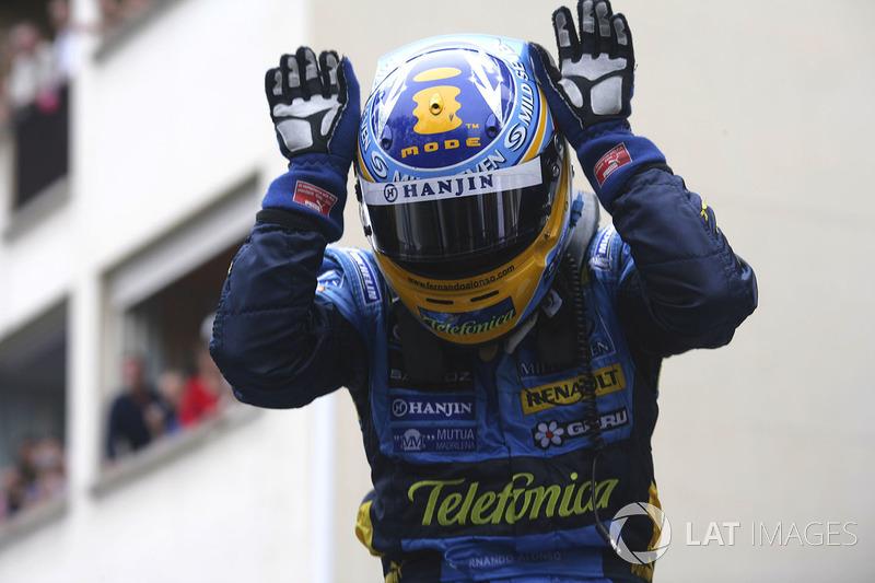 9. 2006 - Fernando Alonso, Renault (74,4%)