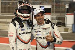 LMP1 pole sitters Neel Jani, Nick Tandy, Porsche Team