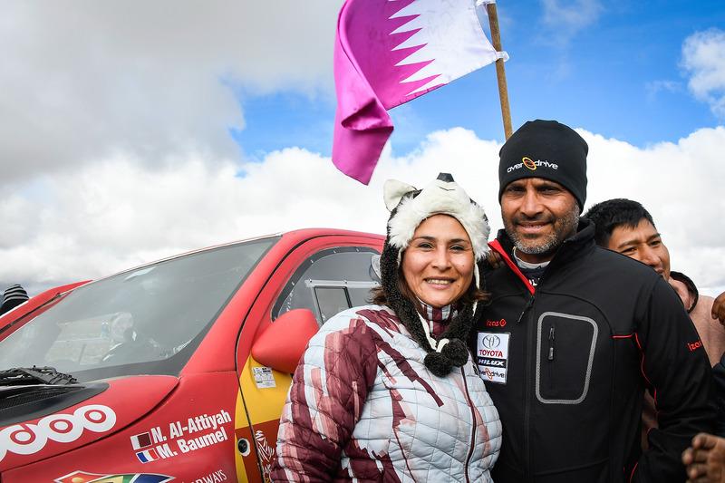 Нассер Аль-Аттія, Toyota Gazoo Racing, з уболівальницею