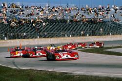 Clay Regazzoni, Ferrari 312PB leads