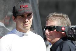Robert Wickens, Schmidt Peterson Motorsports Honda, mit Sam Schmidt