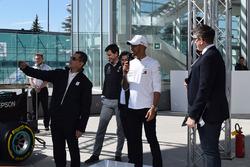 Lewis Hamilton, Mercedes-AMG F1, Toto Wolff, Mercedes AMG F1 Director of Motorsport