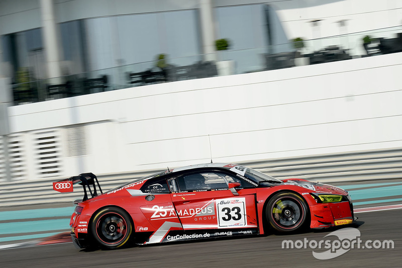 #33 Car Collection Audi R8 LMS GT3: Oliver Bender, Dirg Parhofer, Dimitri Parhofer, Peter Schmidt