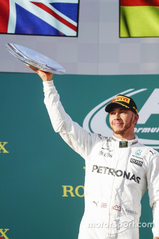 2. Lewis Hamilton, Mercedes AMG F1