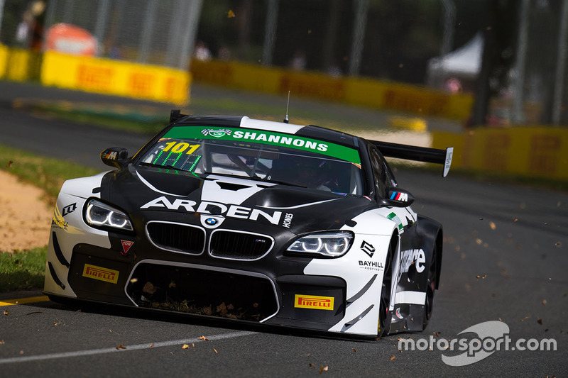 #101 DJS Racing, BMW M6 GT3: Danny Stuttered