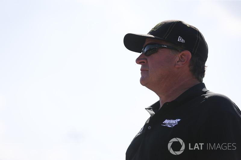 John Hunter Nemechek, SWM-NEMCO Motorsports Chevrolet dueño del equipo Joe Nemechek