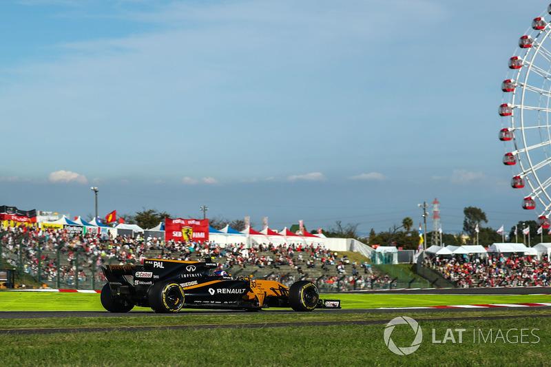 12. Джолион Палмер, Renault Sport F1