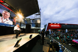Ross Brawn, Managing Director of Motorsports, FOM, on stage