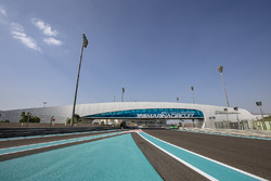 A view of the Yas Marina circuit