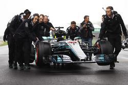 Car of Lewis Hamilton, Mercedes AMG F1 W08