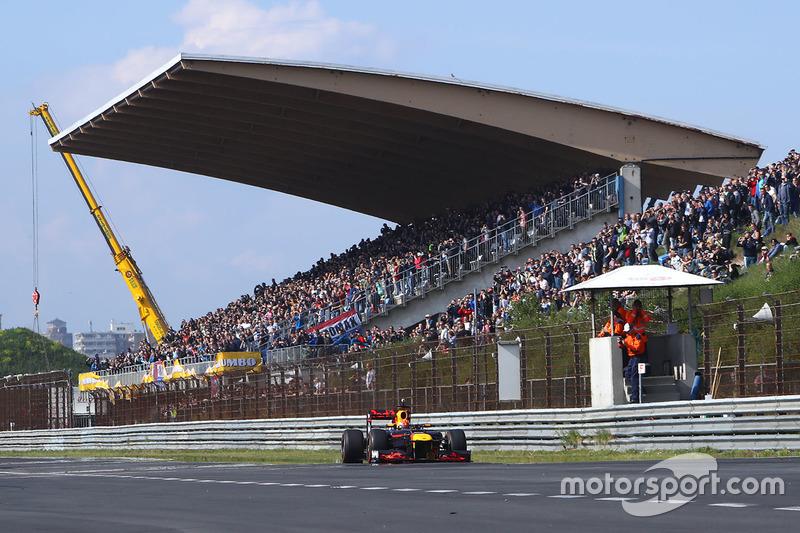 Это машина Red Bull 2012 года