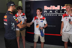 F1 in Schools winners celebrate, Daniel Ricciardo, Red Bull Racing