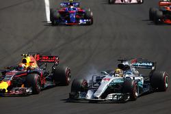 Льюіс Хемілтон, Mercedes AMG F1 W08, Макс Ферстаппен, Red Bull Racing RB13