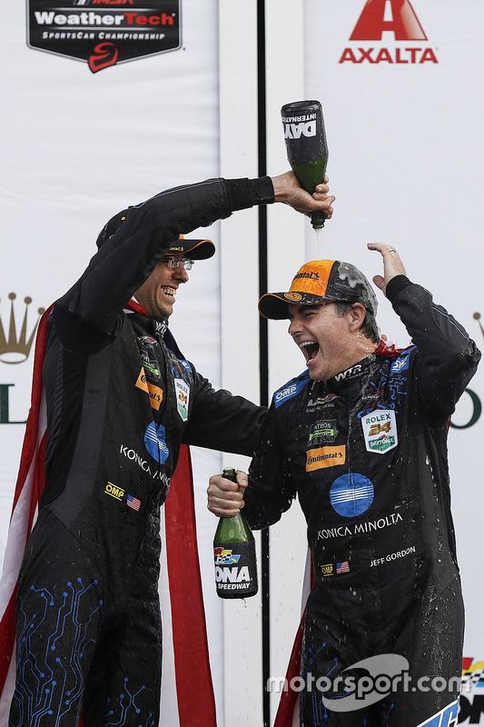 Ganadores, Jordan Taylor, Jeff Gordon, Wayne Taylor Racing
