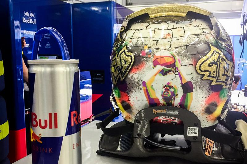 Casco de Sean Gelael, Scuderia Toro Rosso