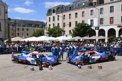 #13 Vaillante Rebellion Racing Oreca 07 Gibson: Mathias Beche, David Heinemeier Hansson, Nelson Piquet Jr., #31 Vaillante Rebellion Racing Oreca 07 Gibson: Julien Canal, Bruno Senna, Nicolas Prost