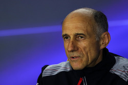Franz Tost, Scuderia Toro Rosso, Team Principal, lors de la conférence de presse