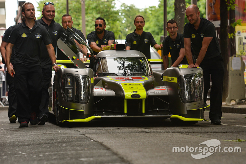 Опередит ли ByKolles машины LMP2?