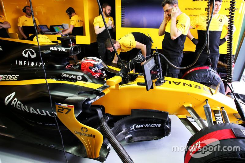 Nico Hülkenberg, Renault Sport F1 Team RS17
