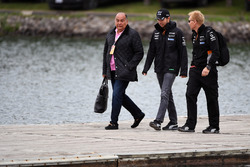 Sergio Perez, Sahara Force India, mit Vater Antonio Perez Garibay